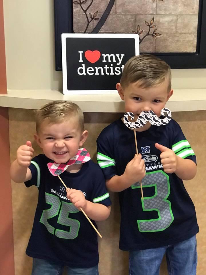 kids at tukwila dental practice